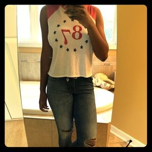 Muscle tee top (Aéropostale)